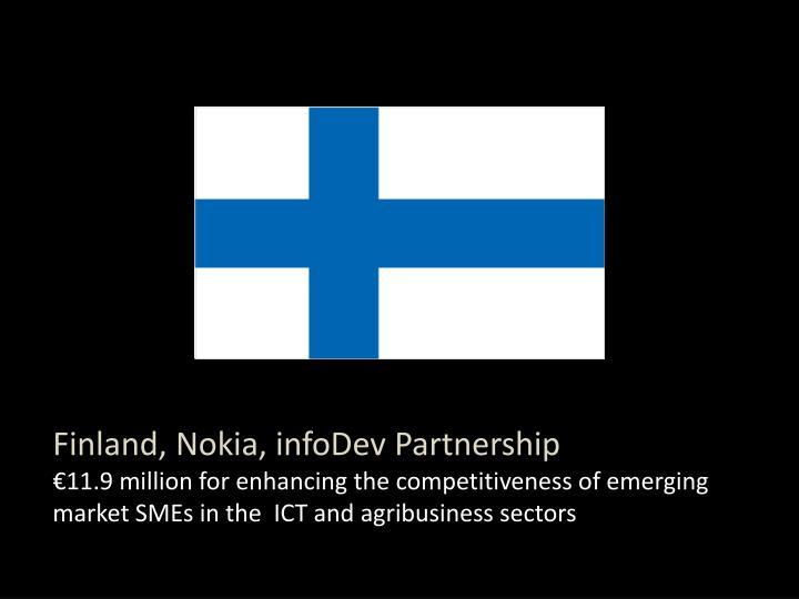 Finland, Nokia, infoDev Partnership
