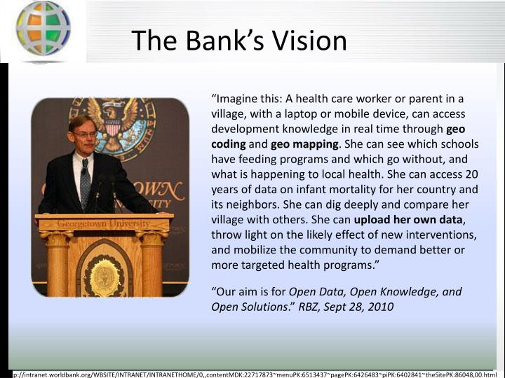 The Banks Vision