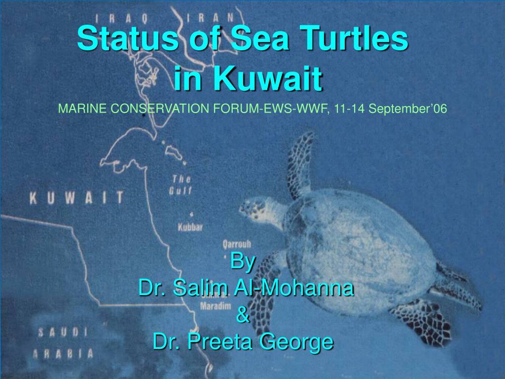 Status of Sea Turtles