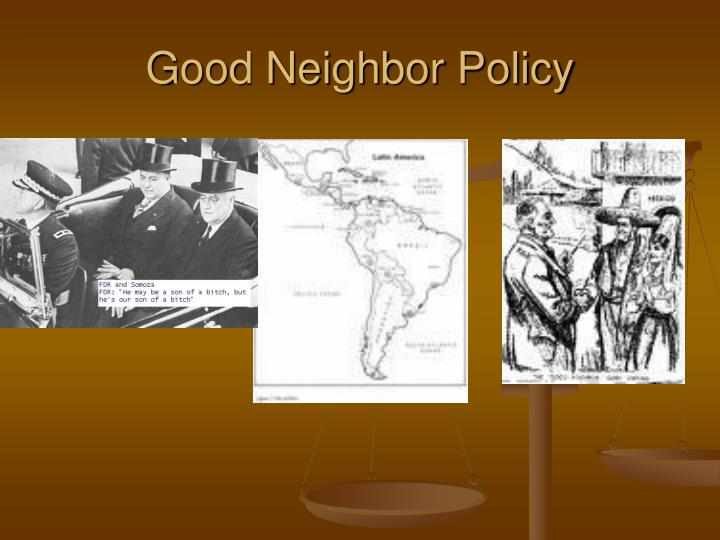 PPT - Aim : What was FDR's foreign policy during the New ...