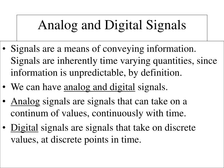 Signals are a means of conveying information.  Signals are inherently time varying quantities, since information is unpredictable, by definition.