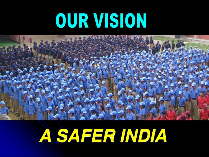 A SAFER INDIA