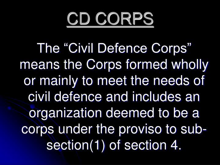 CD CORPS