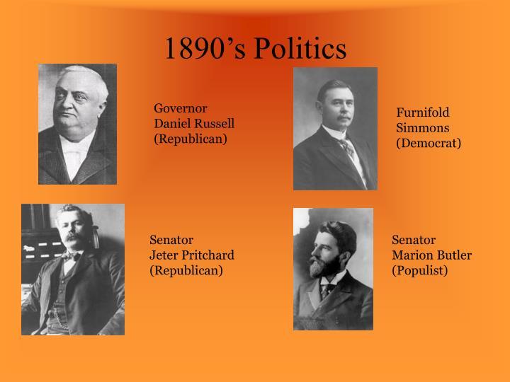 1890's Politics
