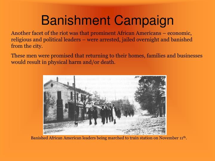 Banishment Campaign