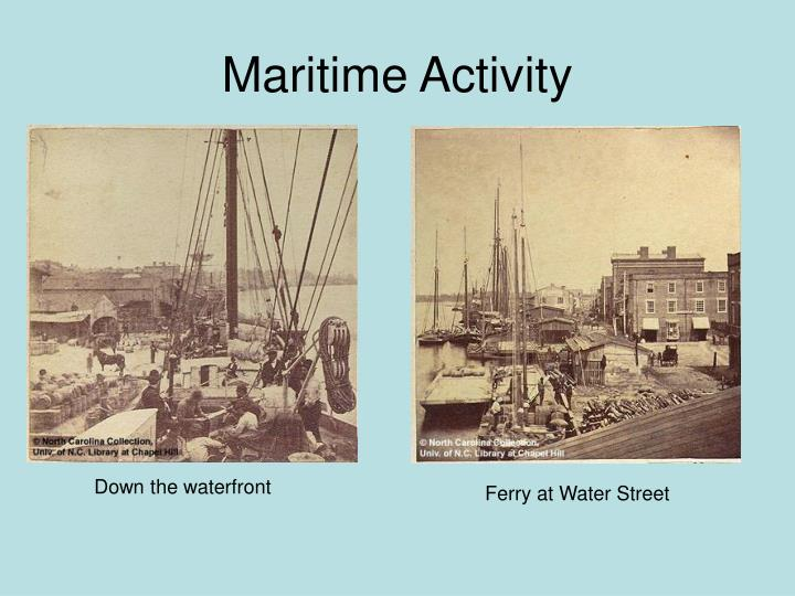 Maritime Activity