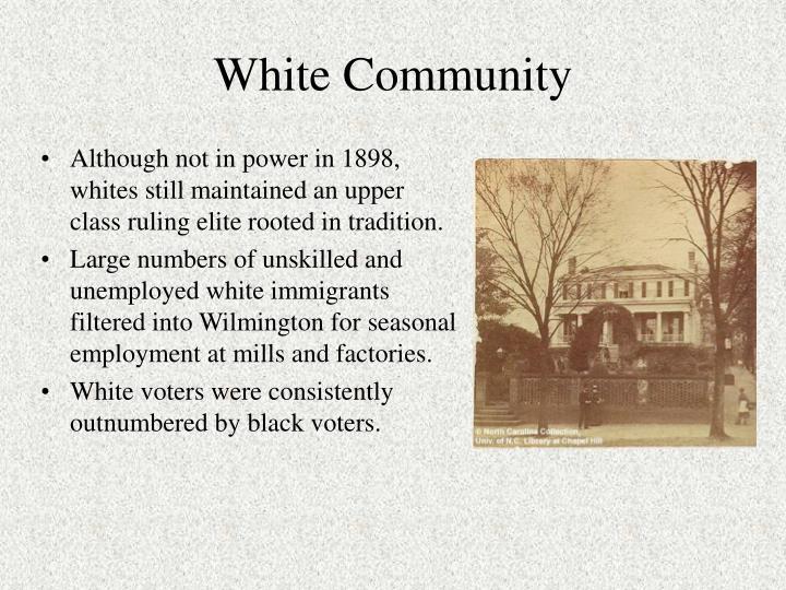White Community