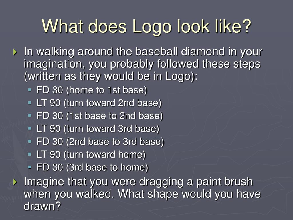 What does Logo look like?