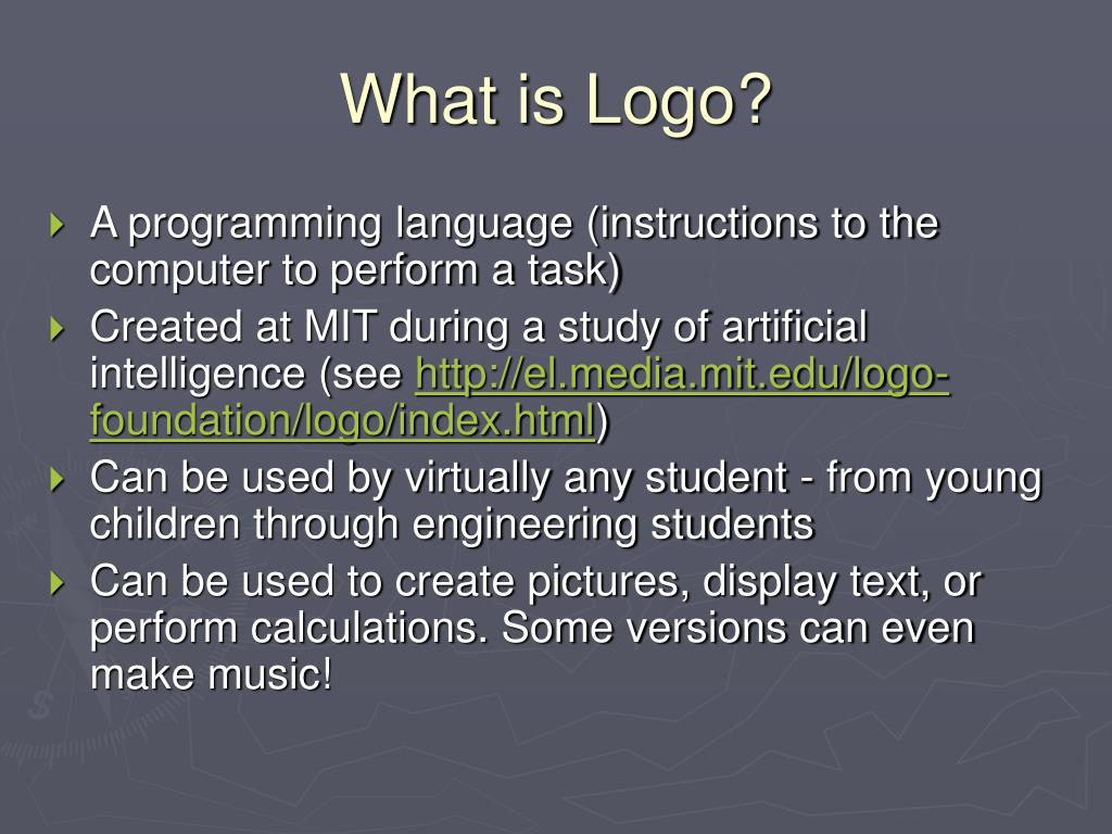 What is Logo?