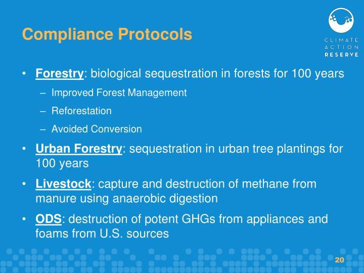 Compliance Protocols