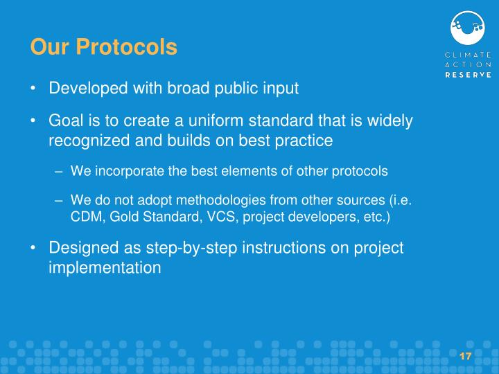 Our Protocols