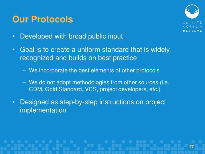 Our Protocols