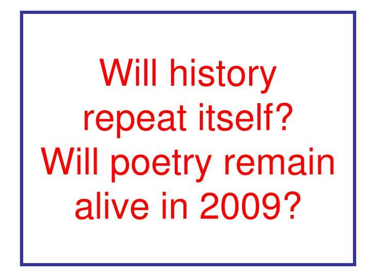 Will history