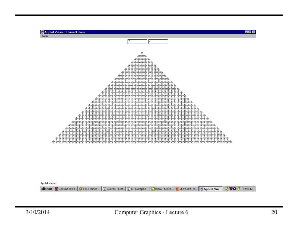 Computer Graphics - Lecture 6