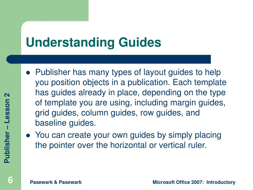 Understanding Guides