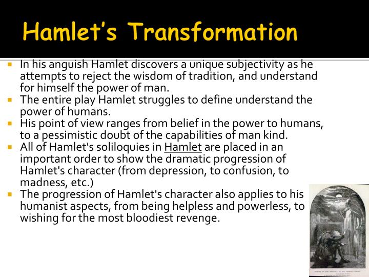 evaluating hamlets insanity from two points of views in the play hamlet Free essay: in shakespeare's classic play hamlet, many people look at it from two very different point of views each of them changes the outcome of the.