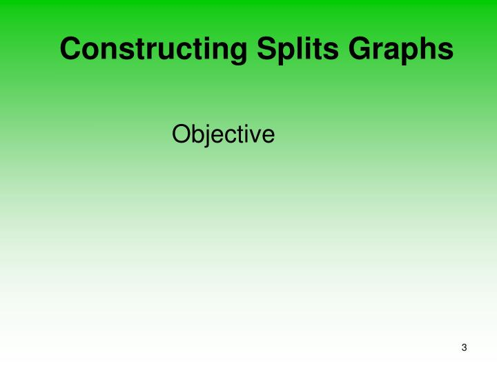Constructing splits graphs3