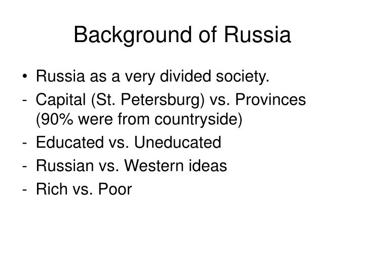 Background of Russia