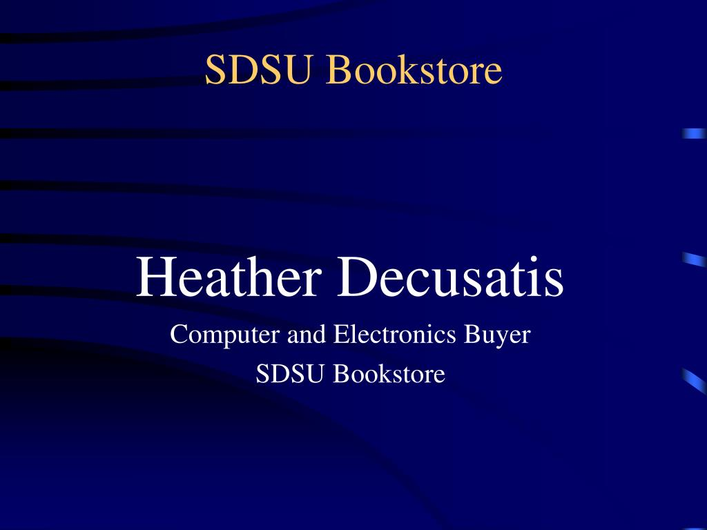 SDSU Bookstore