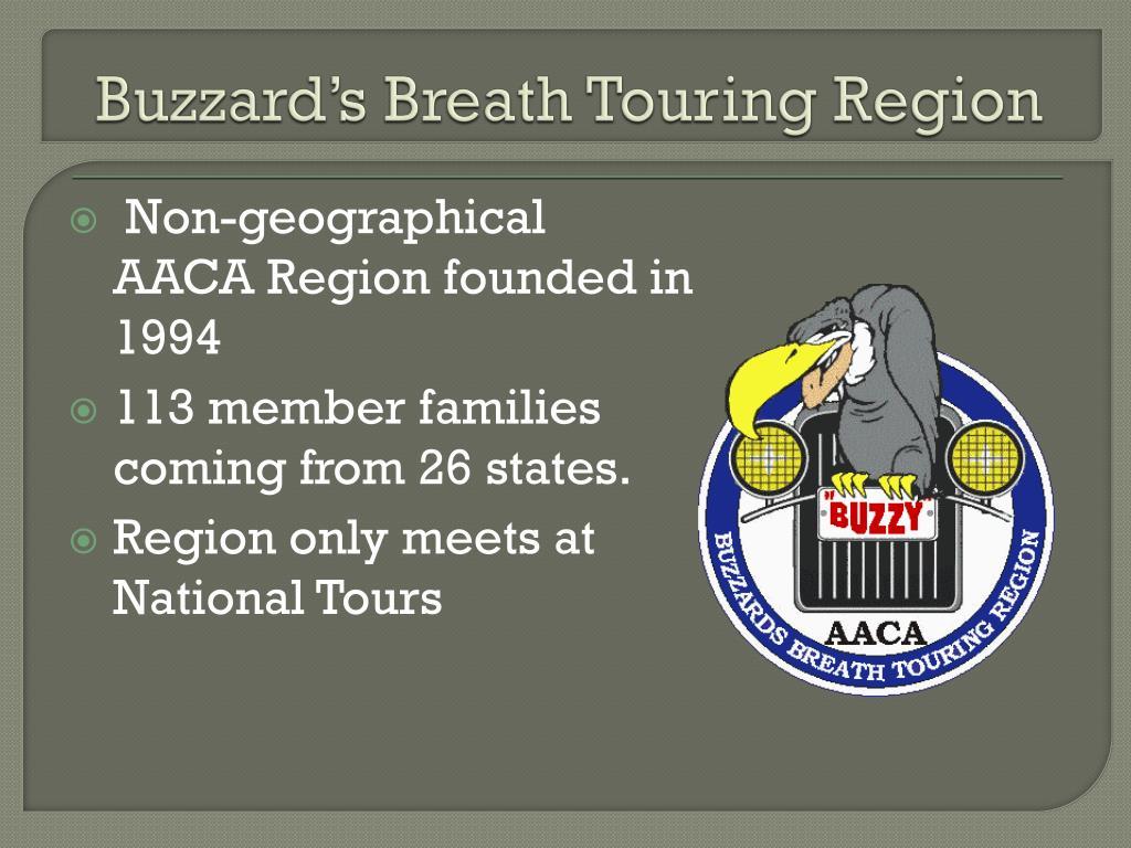 Buzzard's Breath Touring Region