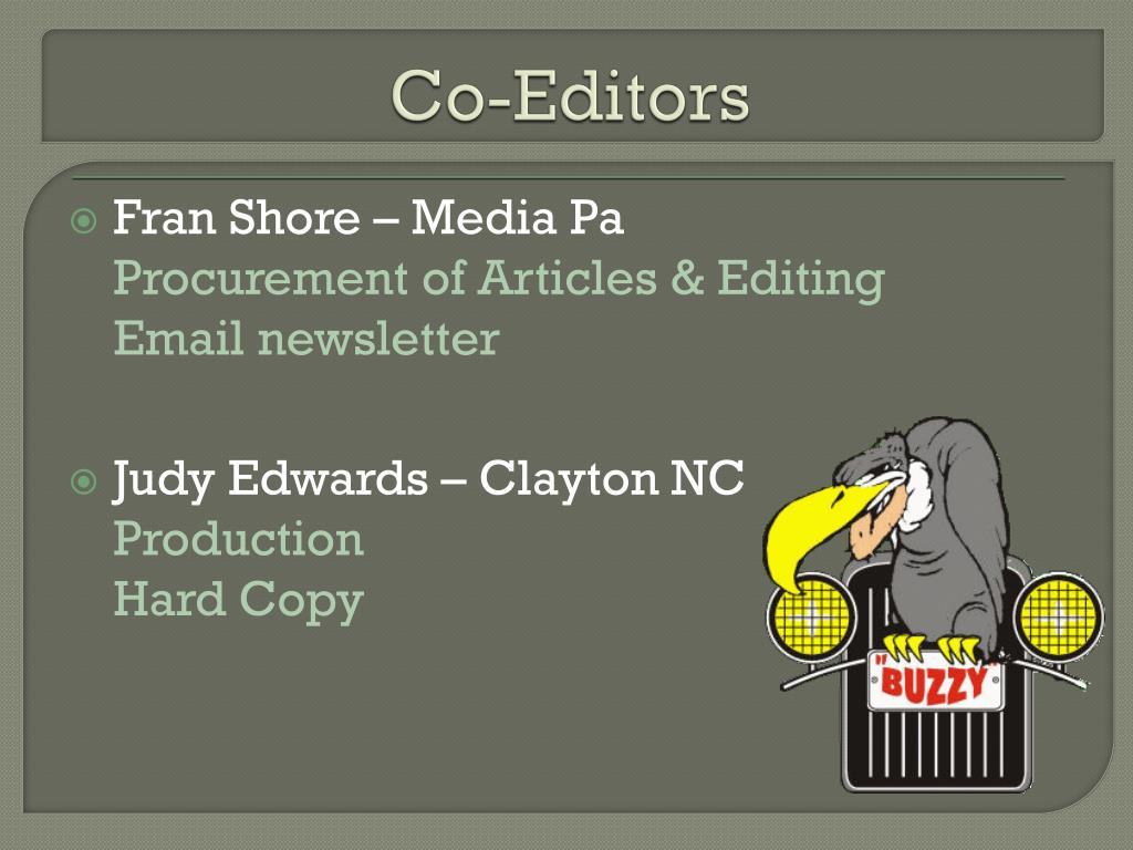 Co-Editors