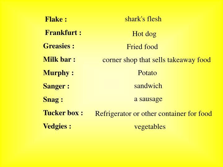 Flake :