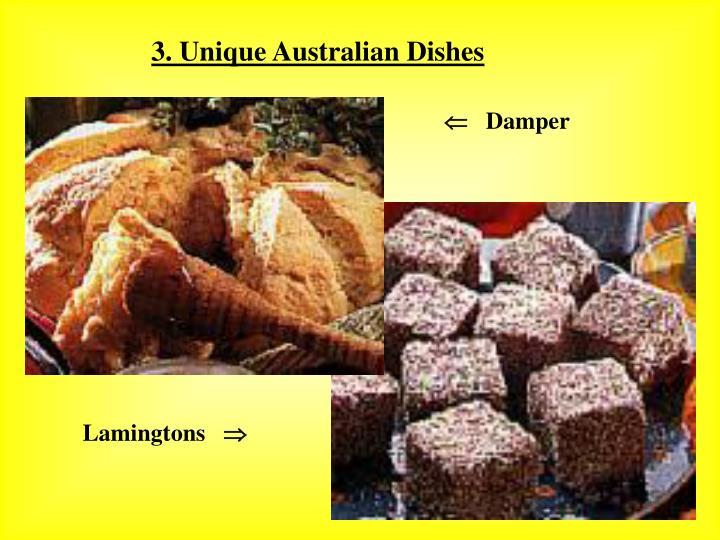 3. Unique Australian Dishes