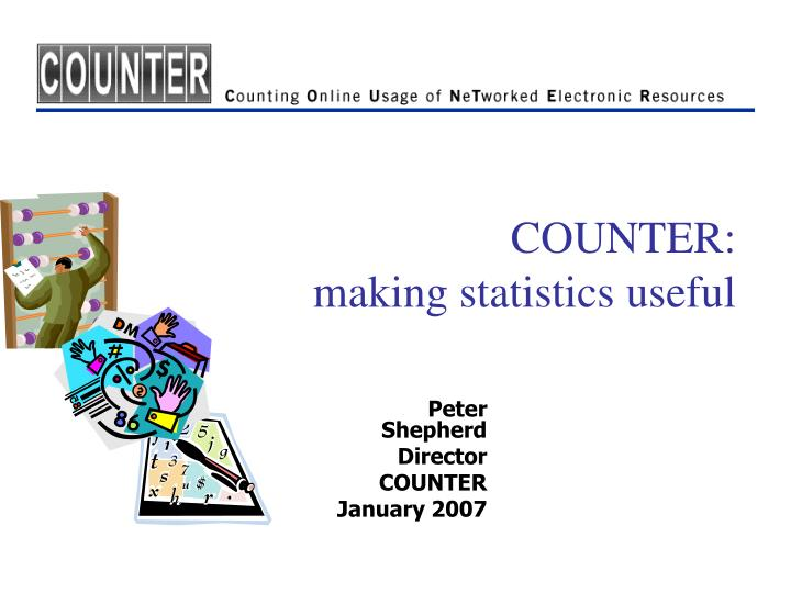 Counter making statistics useful