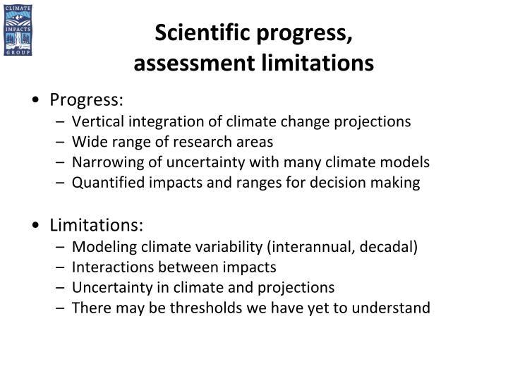 Scientific progress,