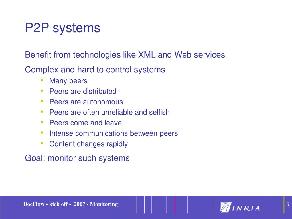 P2P systems