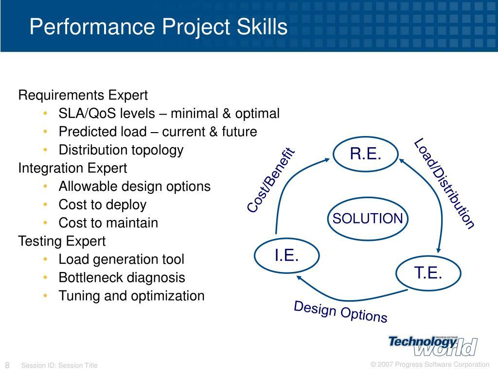 Performance Project Skills