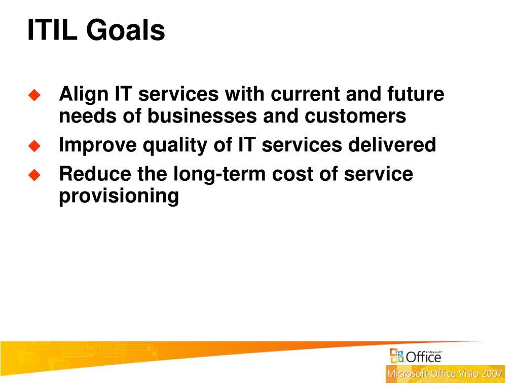 ITIL Goals