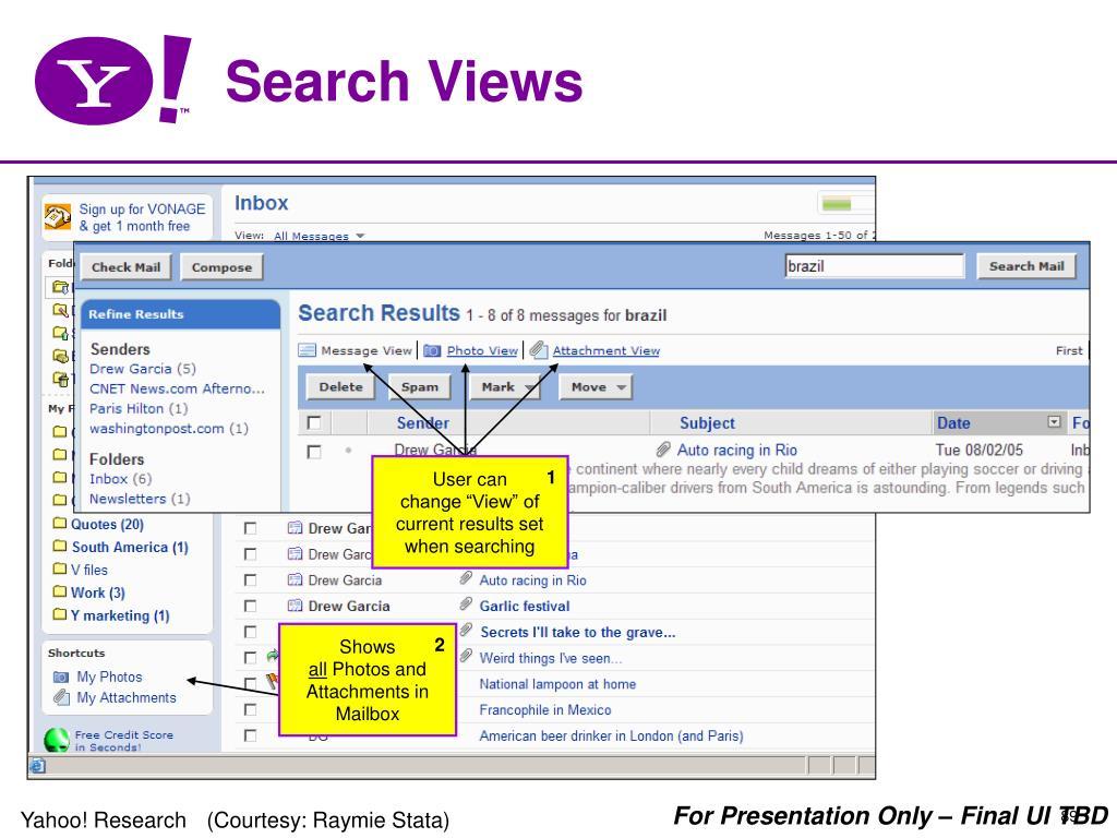 Search Views