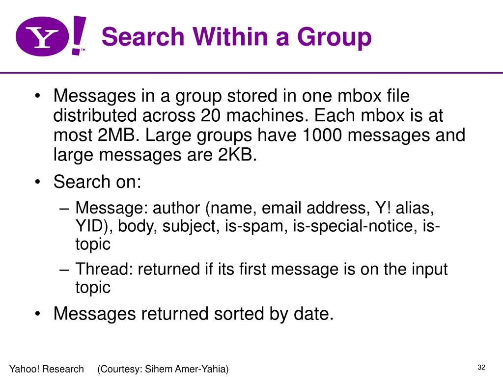 Search Within a Group