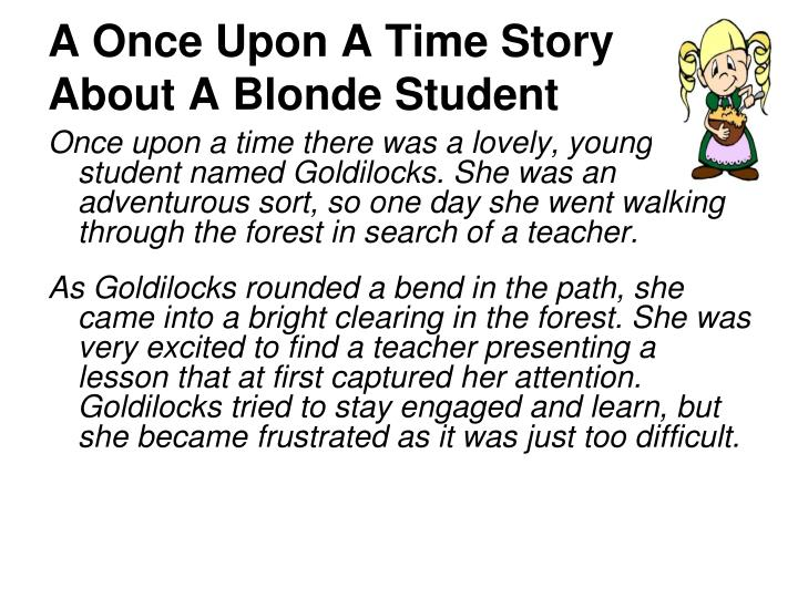 A Once Upon A Time Story