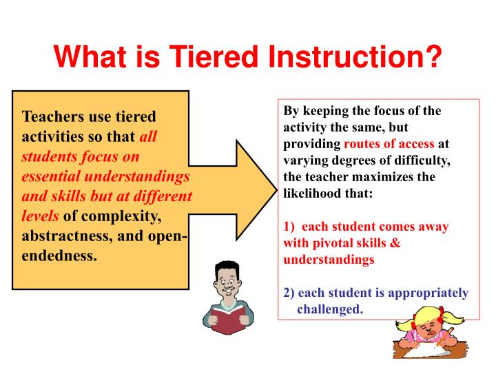 What is Tiered Instruction?