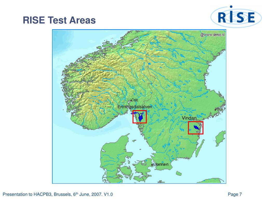 RISE Test Areas