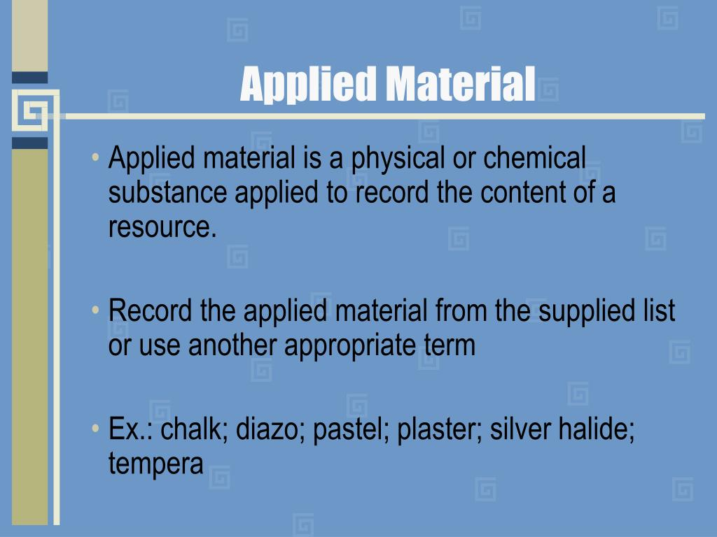 Applied Material