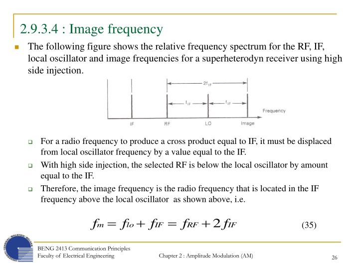 2.9.3.4 : Image frequency