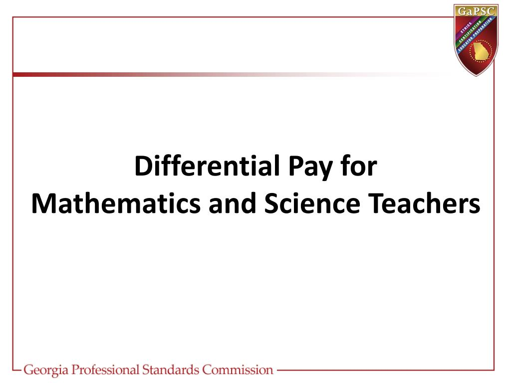 Differential Pay for