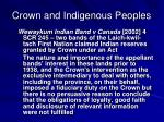 crown and indigenous peoples3