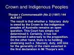 crown and indigenous peoples5