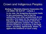 crown and indigenous peoples6