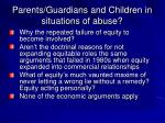 parents guardians and children in situations of abuse15