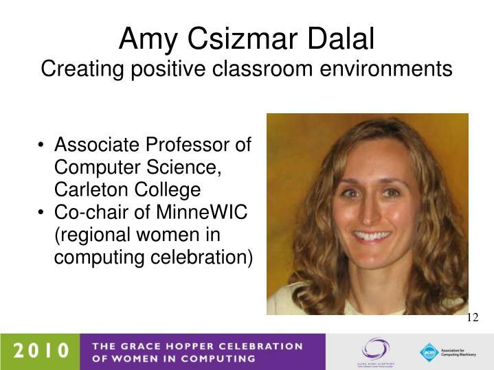Amy Csizmar Dalal