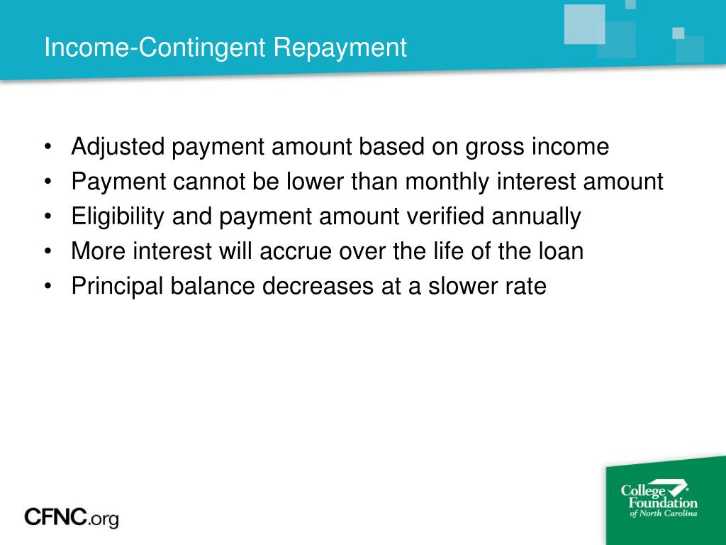 Income-Contingent Repayment