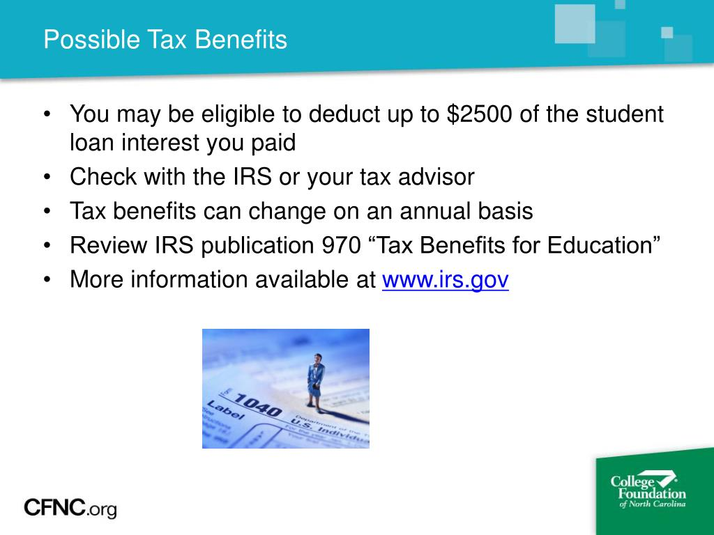 Possible Tax Benefits