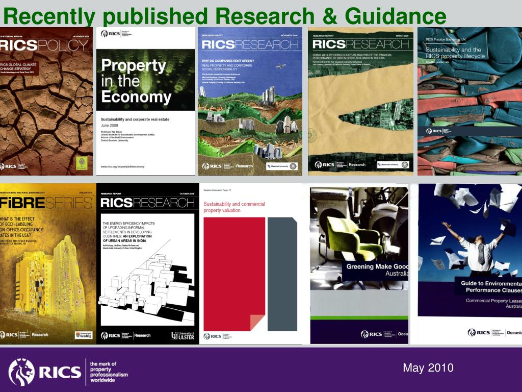 Recently published Research & Guidance