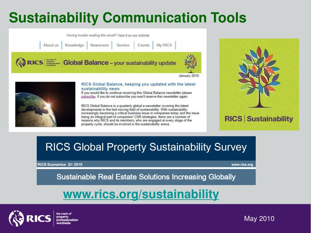 Sustainability Communication Tools