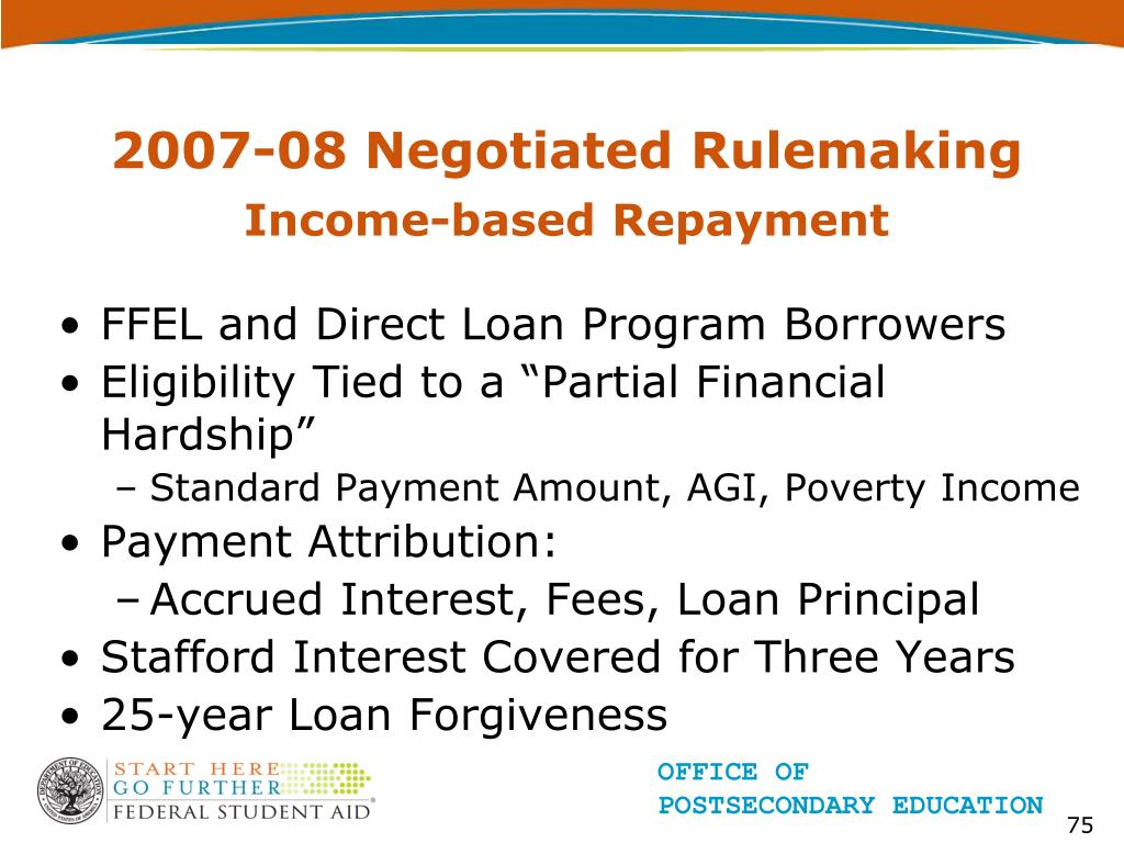 2007-08 Negotiated Rulemaking